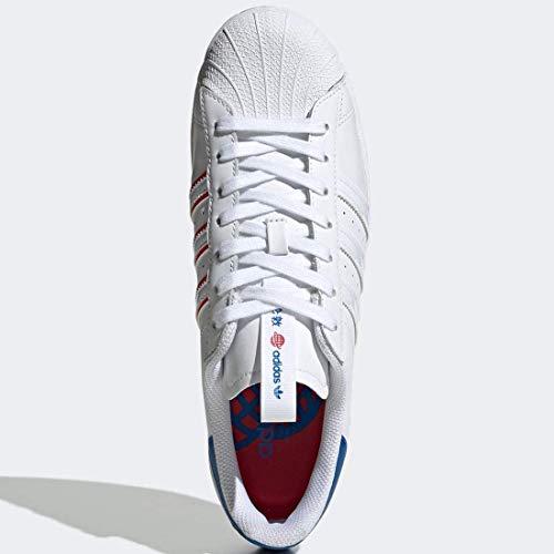 adidas Superstar - Zapatillas deportivas para hombre, color blanco, 40