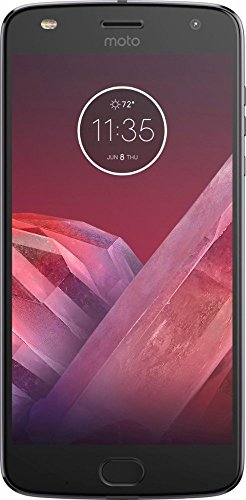 Motorola Moto Z2 Play XT1710-06 - 64GB Single SIM Factory Unlocked Smartphone (Dark Gray -...