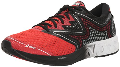 ASICS Men's Noosa FF Running Shoe, Vermilion/White/Black, 11 M US