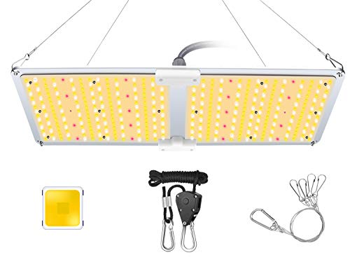 AOPO LED Grow Light for Indoor Plants, Plant Growing Lamp with Samsung LED diodes Dimmable Mean Well Driver, Sunlike Full Spectrum Plant Light for Seedling, Greenhouse, Hydroponic and Flowers A-2000