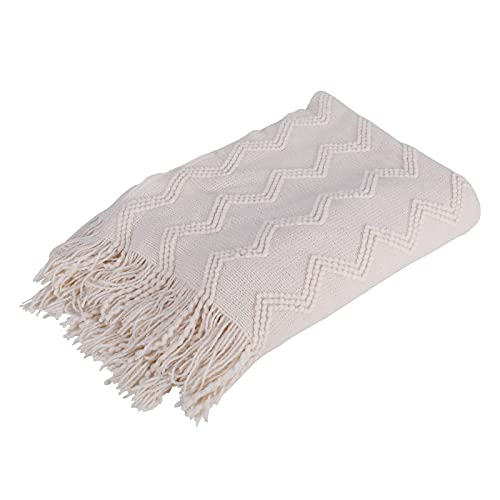 JOY TEX 100% Acrylic Knit Throw Blankets,50