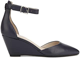 Women's Ellis Wedge Pump with Ankle Strap