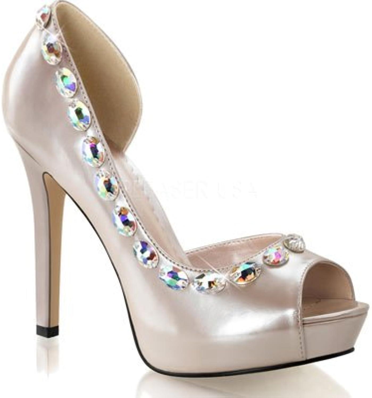 Fabulicious Women's Lumina38 Open Toe Fashion Pumps