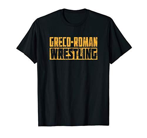 Greco Roman Wrestling. Griechisch-römisches Ringen T-Shirt