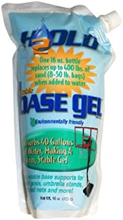 BaseGel Basketball Goal Portable Bases Polymer, 16-Ounce