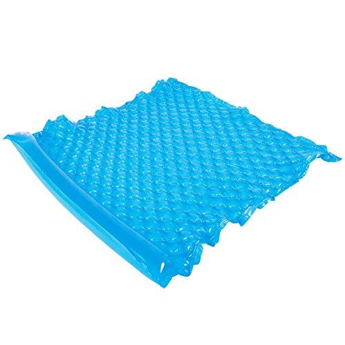 Jilong Wave Mat Duo Blue 218x88cm zwemmat 2 man luchtmatras strandmat zwembadbed waterbed