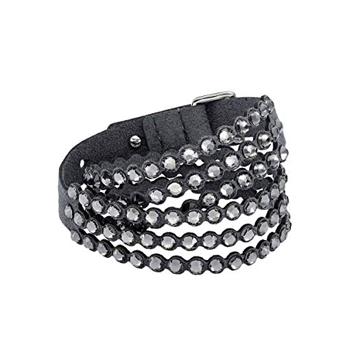 Swarovski Power Collection Armband, dunkelgrau