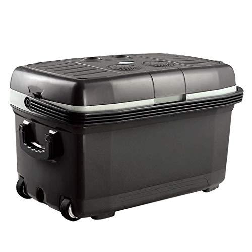 Lyn Mini-koelkast voor in de auto, 45 liter, voor verwarming en koelbox, kleine koelkast, mini-koelkast