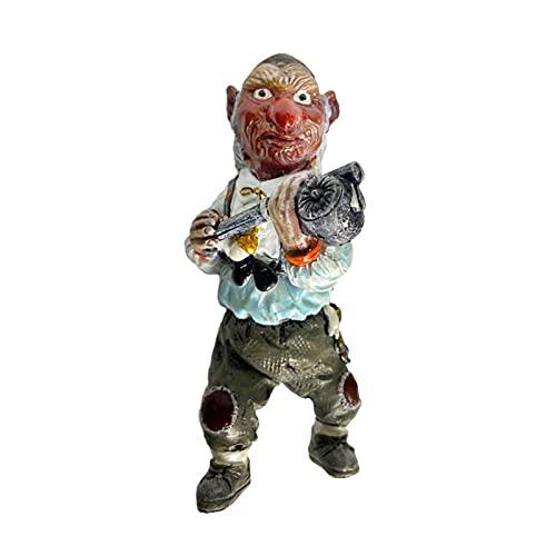 Gnomo de jardín, estatua de From The Maze Hoggle Protege tu patria, regalo divertido para los fanáticos de Devil's Maze, estatua de patio de jardín, decoraciones para interiores o exteriores