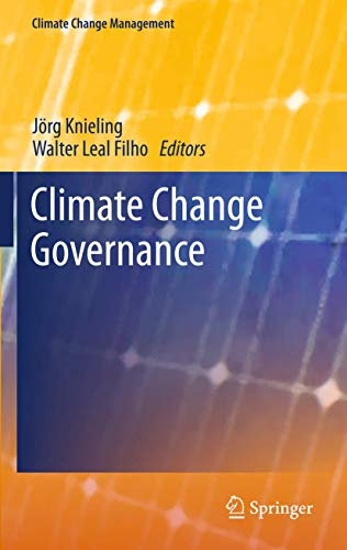 Climate Change Governance (Climate Change Management)