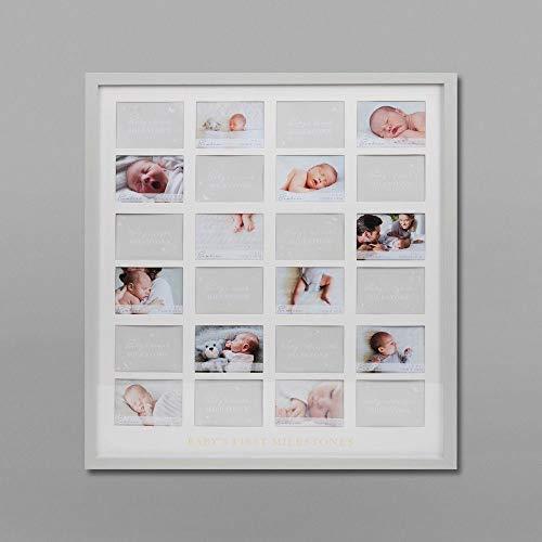 Bambino grote muur opknoping Babys eerste mijlpaal fotolijst 53 x 48 cm