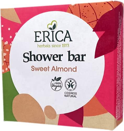 Erica - Barra de ducha Almendra - 95 gramos