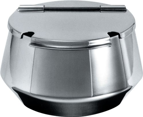Alessi | - Design Sugar Bowl with Lid, Stainless Steel, Matte Finish