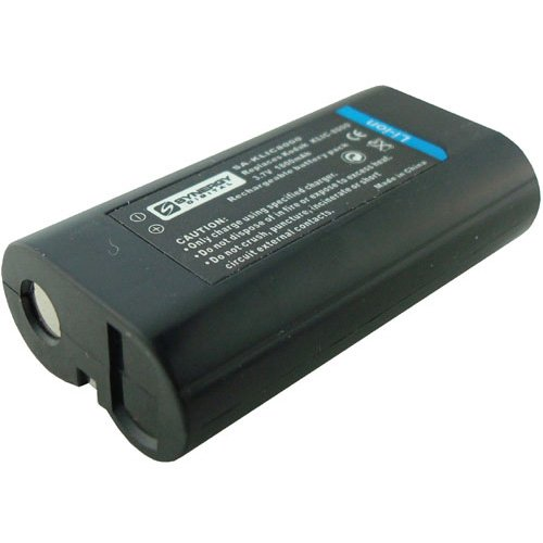 SDKLIC8000 Lithium-Ion Rechargeable Battery (3.7V 1800 mAh) - Replacement for Kodak KLIC-8000 Battery For Kodak EasyShare Z612, Z712 IS, Z812 IS, Z8612, Z1012 IS, Z1015 IS, Z1085 IS, Z1485 IS, Zx1, PlaySport Zx1 -  Synergy Digital, 2065-SDKLIC8000