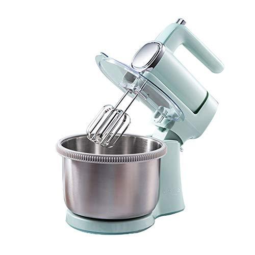 Desktop Handheld Mixer, 9 File, met 2 accessoires van roestvrij staal, 4L RVS Basin, 300W, Voor Keuken, Klop de eieren, Beslag