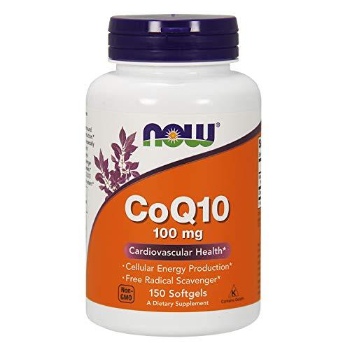 NOW Foods - CoQ10 Para a Saúde Cardiovascular 100 mg. - 150 Cápsulas gelatinosas