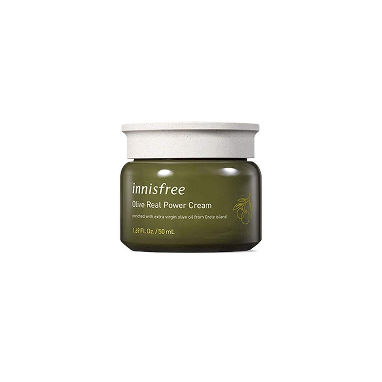 折り目タブレットアコード[イニスフリー] Innisfree オリーブリアル パワークリーム(50ml) Innisfree Olive Real Power Cream(50ml)  [海外直送品]