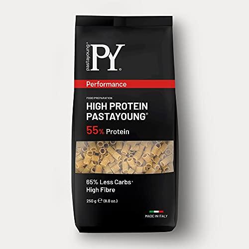 Py Pasta Young Design High Protein 55% Tubetti Rigati - 250 G