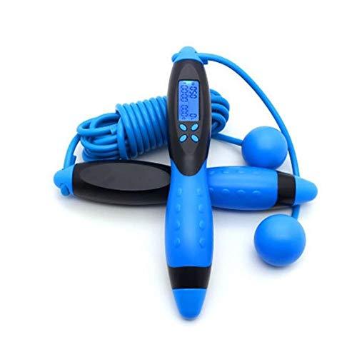 SSXElektronisches DigitalesSpringseil fürErwachsene Kalorienverbrauch Fitness Bodybuilding-Übung Springseilausrüstung, BL