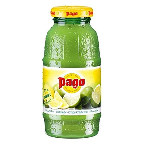 Zumo de fruta Pago Lemon & Lime 12x20cl