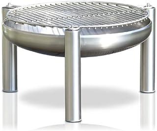 Edelstahl Grill, Durchmesser 80 cm, RICON, deutsche Herstellung
