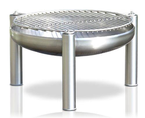 Edelstahl Grill, Ø 80 cm, RICON, deutsche Herstellung