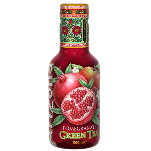 Pomegranate Green Eistee - 0.5L (Case of 4)