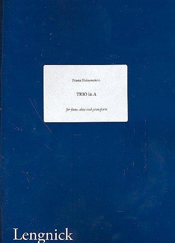 Trio in A: voor flute, oboe en piano-onderdelen.
