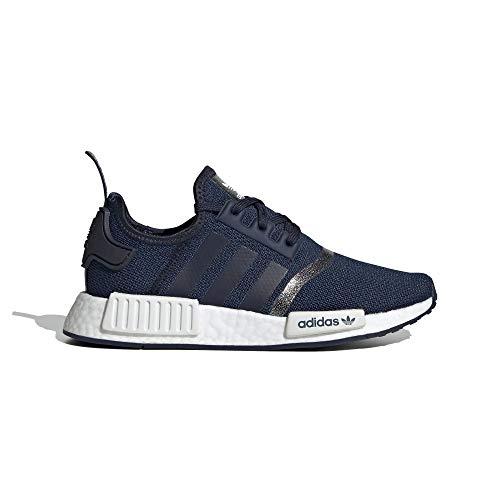 adidas Jungen NMD_R1 J Sneaker Blau, 37 1/3