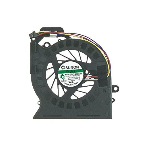 Ventilador - 643353-001 compatible con HP-Compaq Pavilion dv6-6000 | dv6-6070ep | DV6-6090es | DV6-6B13SS | DV6-6B15 | DV6-6B15SS | dv7-6000 | DV7-6090 | DV7-6090ES y part number 650797-001 | MF60120V