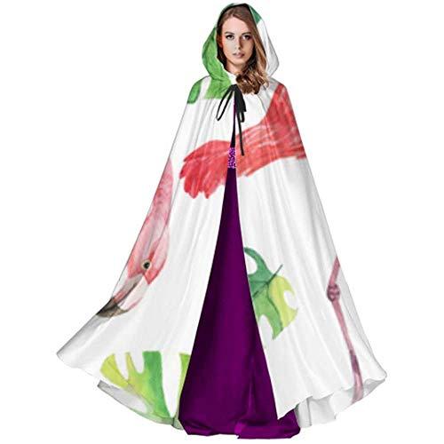 Zome Lag Deluxe omhanging, hekmagie omhang,kap met capuchon, vampierkostuum, flamingo pink mode-accessoires capuchon capuchon blouse met capuchon