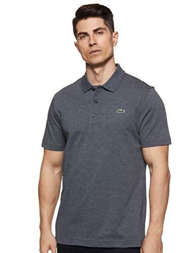 Lacoste Herren Sport, Poloshirt L1230-00, Einfarbig, Gr. X-Large (Herstellergröße: 52)(T6), Grau (BITUME)