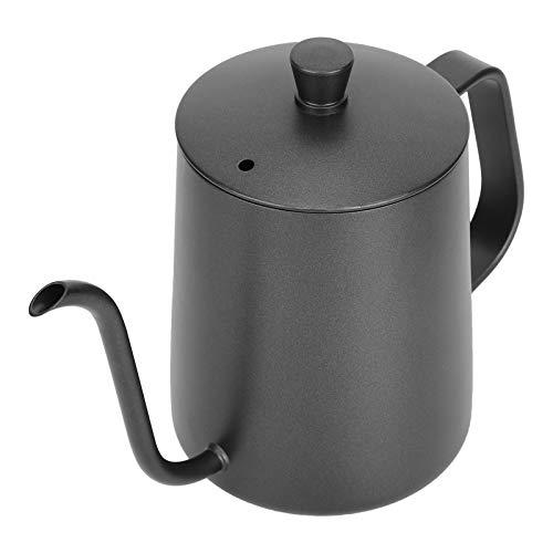 Meiyya Tetera de café, Verter más de 600 ml sin Salpicaduras, Tetera de Mango cómodo, Boca Estrecha para Oficina en casa