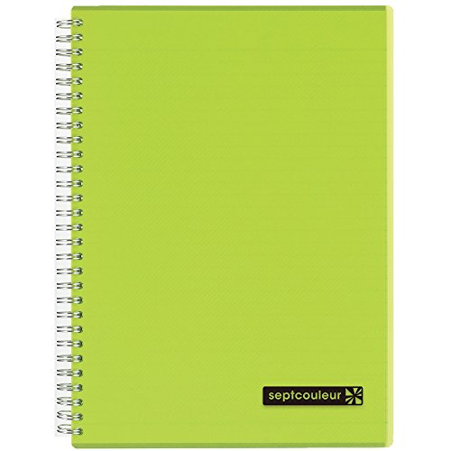Spiral and Wirebound Notebook - Maruman Sept Couleur B5(7mm rule) -N571B-03 Green 80 sheets