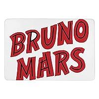 Bruno Mars ブルーノ・マーズ ラグカーペット 足ふきマット 抗菌防臭 ラグマット 玄関マット 長方形 室内用 洗えるラグ カーペット 3Dプリント キッチン 業務用 屋外 防音防ダニ ギフト