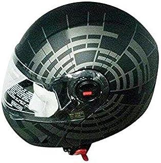 Steelbird SB-41 Oscar Matrix Matt Black and Grey with plain visor,600mm