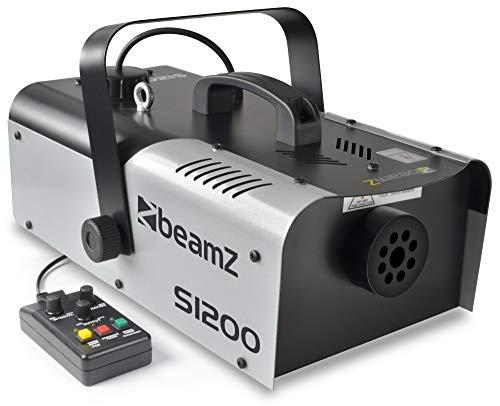 Beamz S1200MKII Nebelmaschine, Maße 470x 255x 200mm