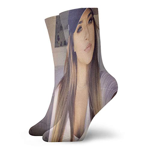 Becky G - Calcetines informales, suaves, transpirables, unisex