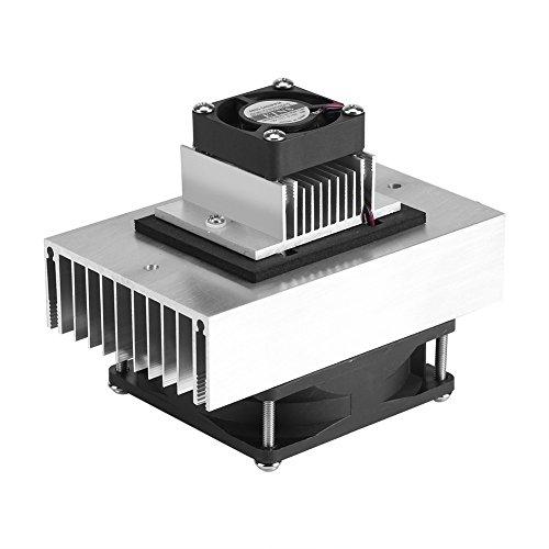 Kit sistema di raffreddamento, DC 12V 65W Sistema di raffreddamento a refrigerazione a semiconduttore Kit mini condizionatore d'aria fai da te