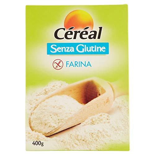 Céréal Farina senza Glutine - con farina di Riso - 400 g