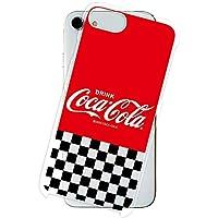 Galaxy Note10+ SCV45 ケース [デザイン:14.ロゴ(市松)/クリアケース] Coca-Cola コカ コーラ ハード スマホケース カバー ギャラクシー ノート10 プラス scv45
