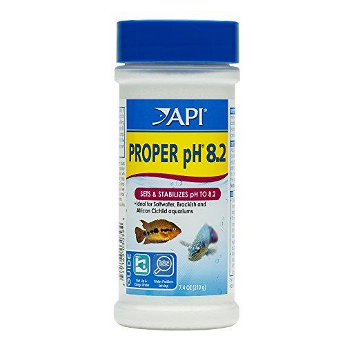 API PROPER pH 8.2 Freshwater Aquarium Water pH Stabilizer 7.05-Ounce Container