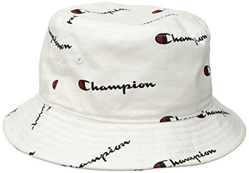 Champion LIFE Men's Bucket Hat, White, L-XL