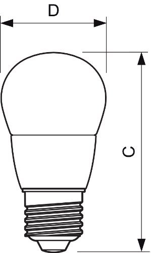 5 x Philips MASTER LED 6W Luster Golf Ball Lamp (40W Vervanging), Warm Wit, Dimbaar, E27 Edison Schroef