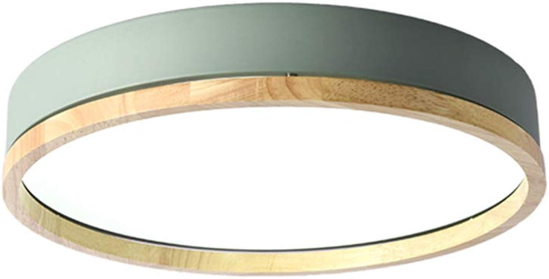 TopDeng Minimalistischen Errten-einfassung Deckenleuchte LED, 12 , Nordisch Runden Deckenlampe Kinderzimmer Bunt Decke Leuchten-Warmwei 30cm-18W