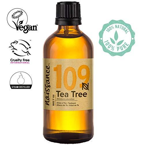 Naissance Aceite Esencial de Árbol de Té n. º 109 – 100ml - 100% Puro,...