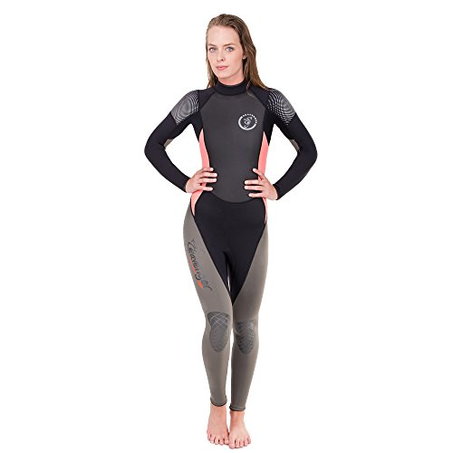 Seavenger 3mm Odyssey Wetsuit with Sharkskin Chest (Salmon, Women's Size 13)