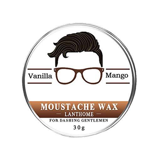 Guangcailun Hommes Barbe Pâte Cre Maintaince Naturel Beurre Cire Baume Bio Barbe Barbe pâte d'huile moisturing Reconstitution Adoucisseur Beurre