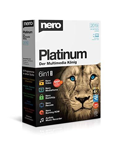 Nero API Nero Platinum 2019 Bild