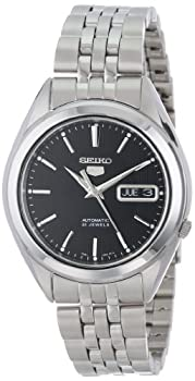 SEIKO 5 Men s SNKL23 Stainless Steel Automatic Casual Watch